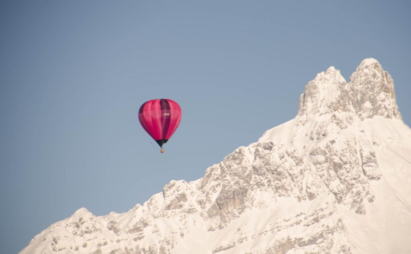 Ballonfahren in den Bergen – Filzmoos 2016